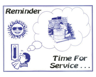 3406 Reminder Time For Service - A/C