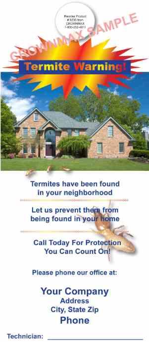 8235 Termite Warning!