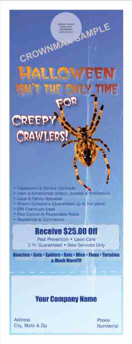 8224 Creepy Crawlers Doorhanger