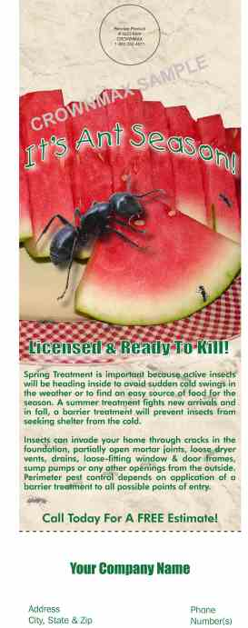 8223 Ant Season Doorhanger