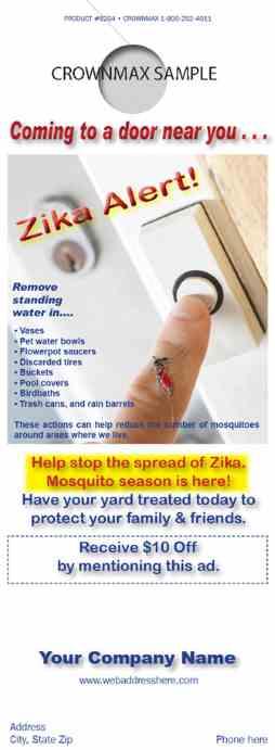 8204 Zika Doorhanger Stop The Spread
