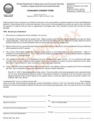 7168 Consumer Consent Form