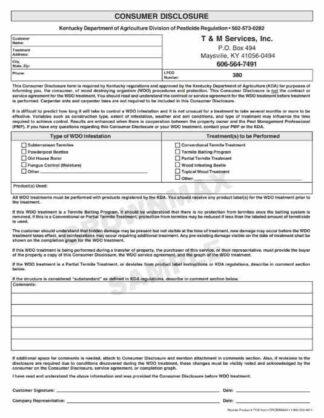 7102 Kentucky Consumer Disclosure Report