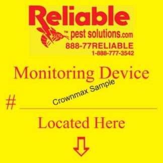 7048 Monitoring Device Label - Rodent