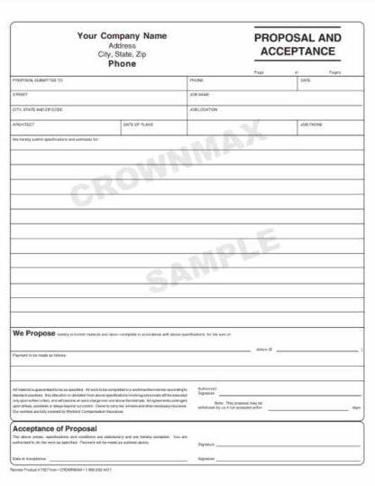 7029 Proposal & Acceptance