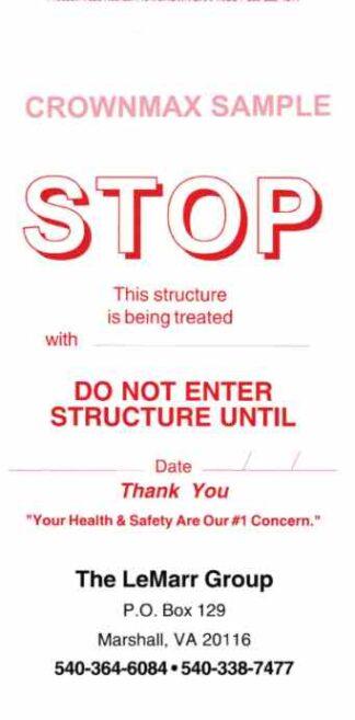7025 Stop Treatment Doorhanger