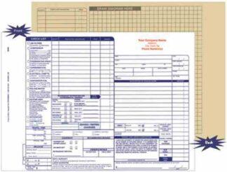 6814 HVAC Service Order / Invoice