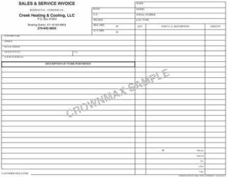 6803 Sales & Service Invoice