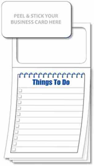 4101 Magnetic Notepad - Things To Do