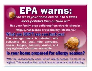 3508 EPA Warns Postcard