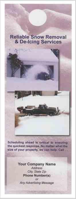 3529 Snow Removal Doorhanger