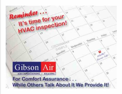 3464 HVAC Reminder Postcard