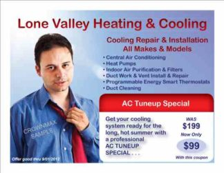 3463 HVAC Cooling Postcard