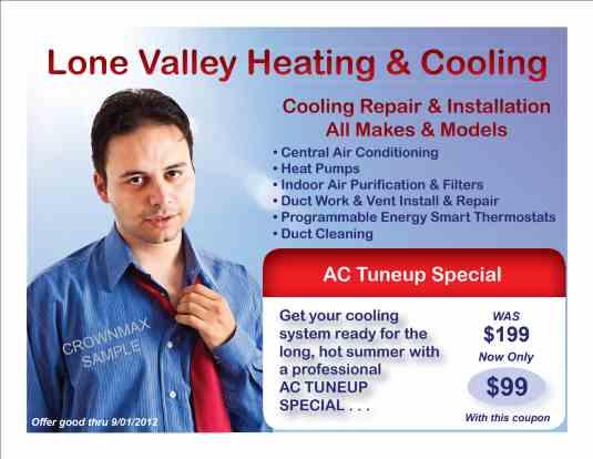3463 – HVAC Cooling Postcard - Crownmax.com
