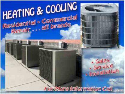 3452 Heating & Cooling Postcard