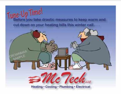 3466 Tune-Up Heating Postcard