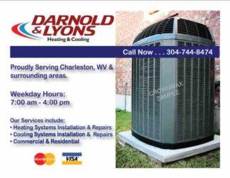 3465 HVAC Cooling Postcard