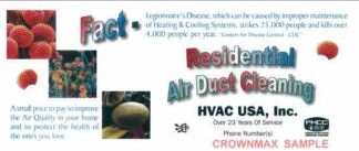 3429 Residential Air Duct Cleaning