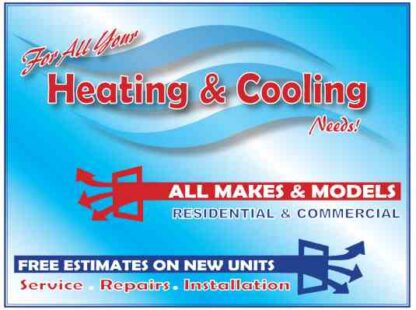3448 For All Your Heat & Cool Needs