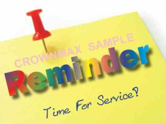 3443 Reminder Time For Service