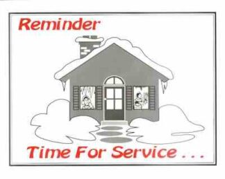 3407 Reminder Time For Service - Winter