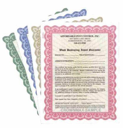 2804 Certificates