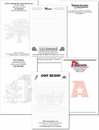 3206 Advertising Notepads