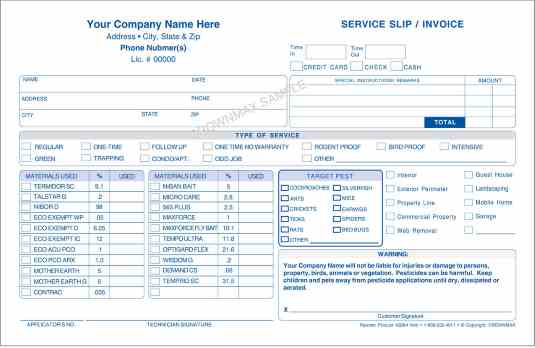 2683 service slip invoice 2 pt crownmax com