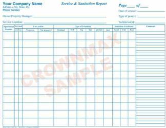 2655 Service & Sanitation Report