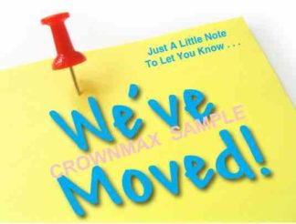 2577 We've Moved Postcard