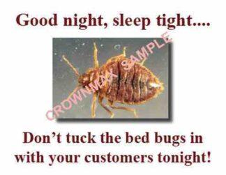 2535 Bed Bugs - Good night, sleep tight . . .