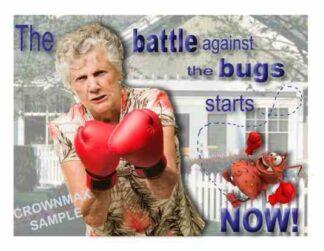 2316 Battle The Bugs Postcards