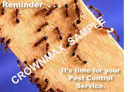 2308 Reminder - Pest Control Service