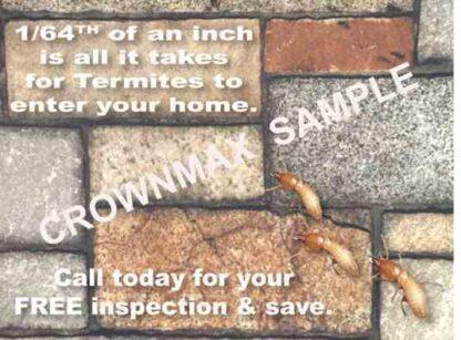2306 Termites Can Enter . . .