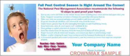 2427 Fall Pest Control Stuffer