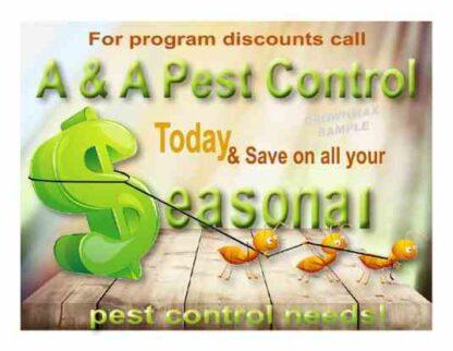 2321 Seasonal Pest Needs Postcards