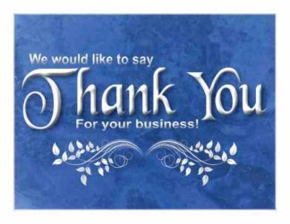 2299 Thank You Card