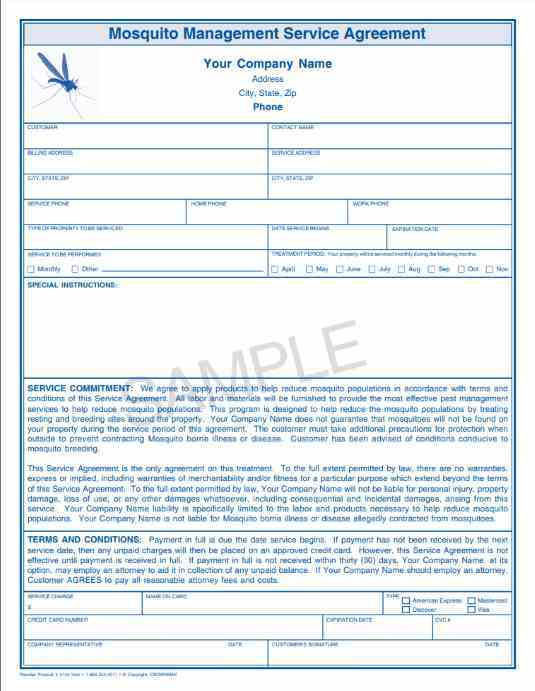 2140 Mosquito Management Service Agreement 2 Pt Crownmax