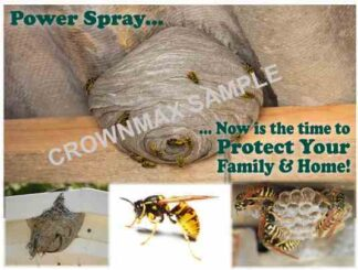 2138 Power Spray Postcard