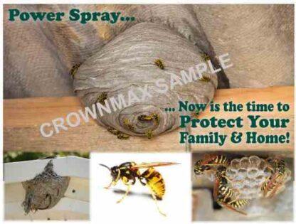 2138 Power Spray Postcard