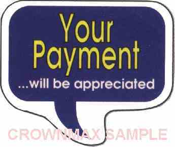1631 Your Payment Label