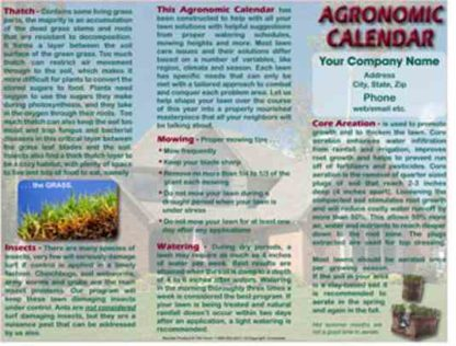 1301 Agronomic Calendar