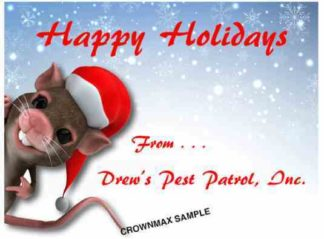 1240 Happy Holiday Mouse