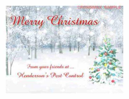 1272 Merry Christmas - Christmas Cards