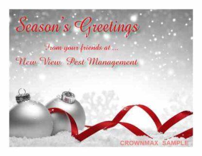 1271 Season's Greetings - Christmas Cards