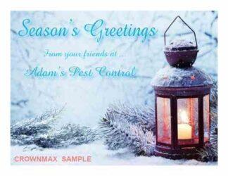 1248 Lantern - Christmas Cards
