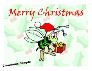 1224 Merry Christmas - Bee