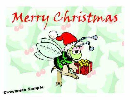 1224 Merry Christmas - Bee