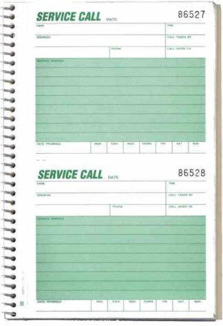 1120 Service Call Slips