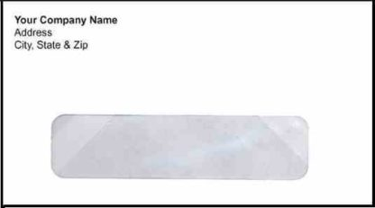1010 - No. 6 3/4 Window Envelope